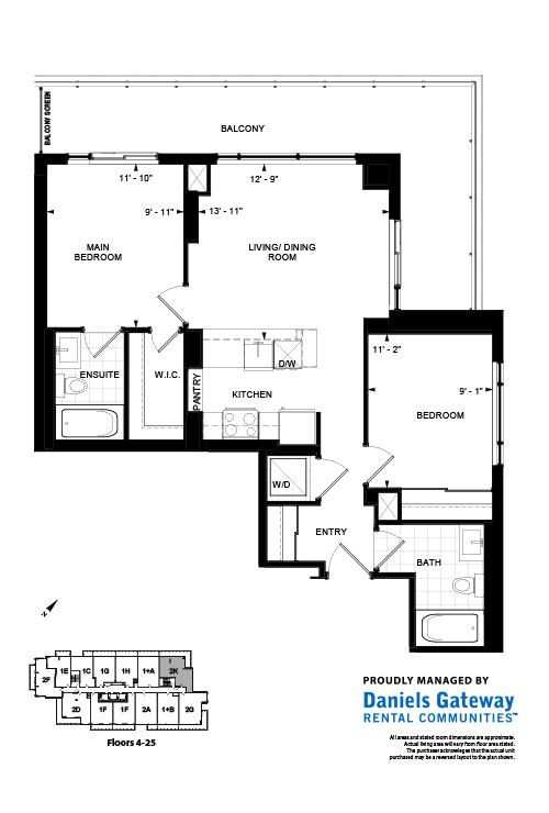 The Skylight Floorplan